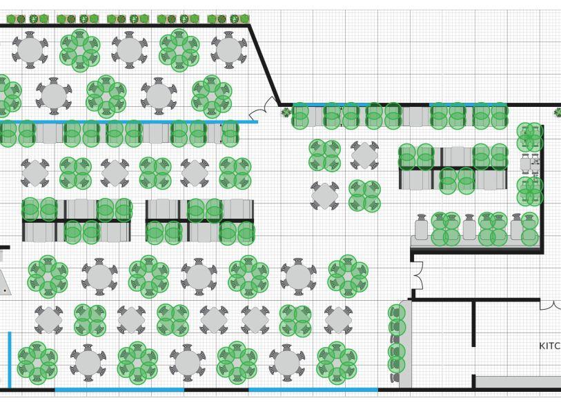 Restaurant Floor Plan Considerations for COVID-19