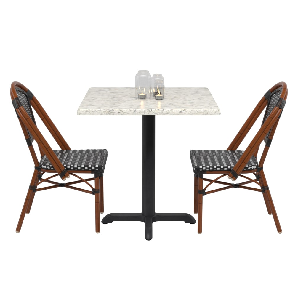 Paris Style Set with 2 Chairs with Paris Style Set with 2 Chairs