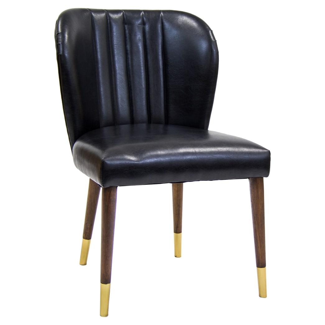 Bronn Padded Wood Chair