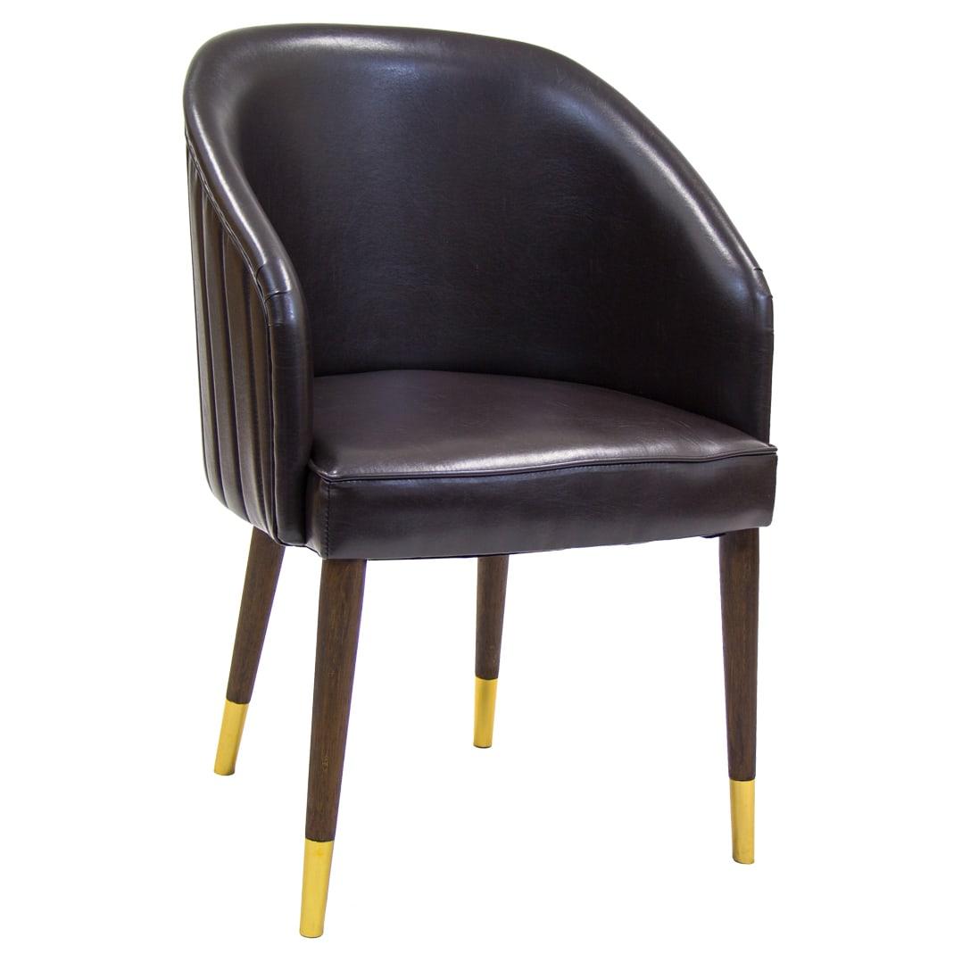 Royce Padded Wood Chair