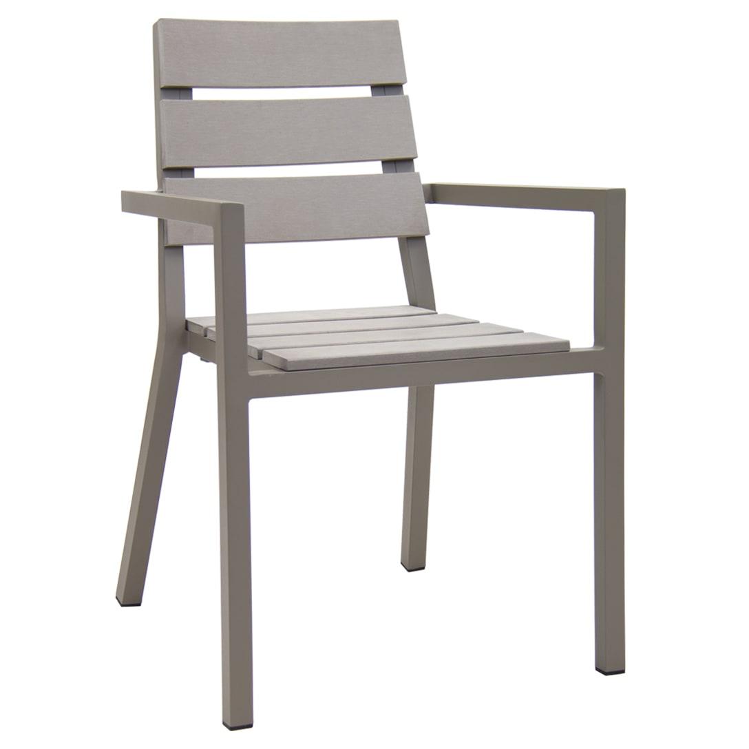 Hampton Aluminum Patio Arm Chair