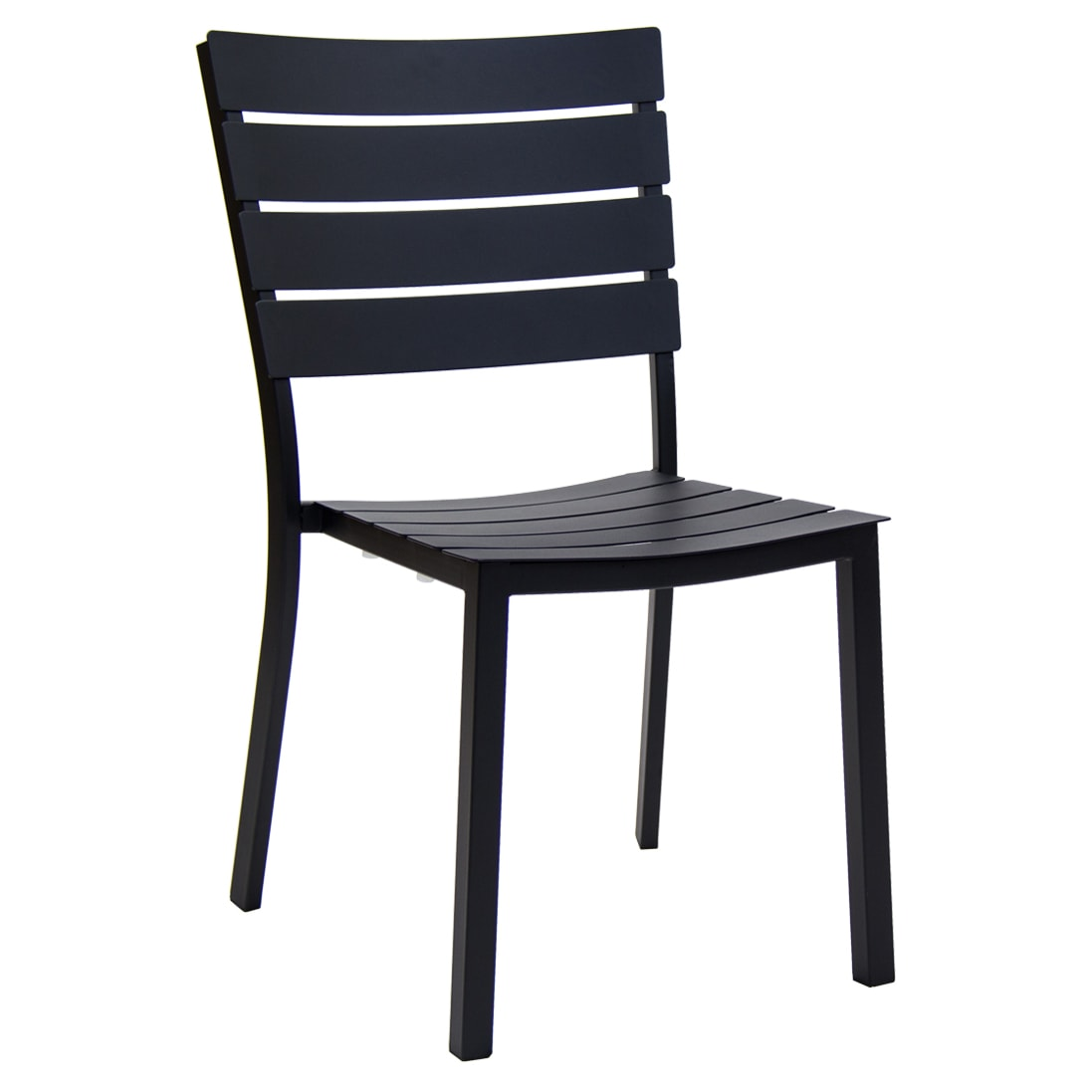Slatted Metal Patio Chair