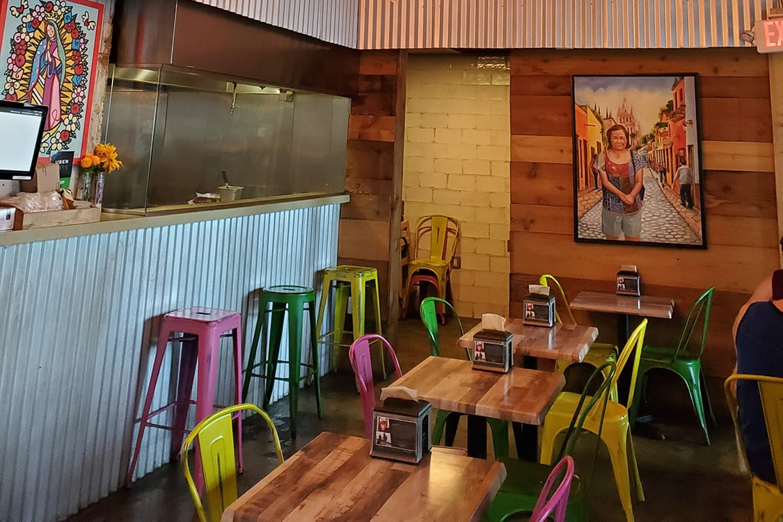 Mexican Restaurant Interior