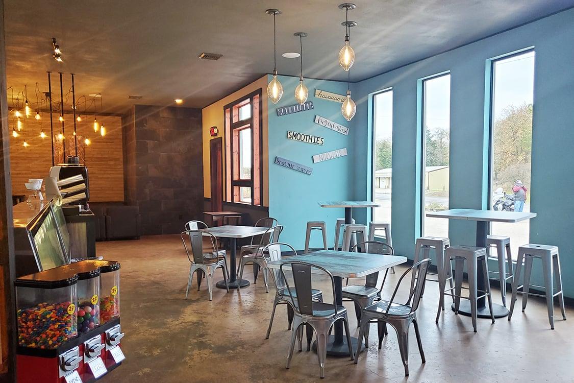 American Style Restaurant Interior