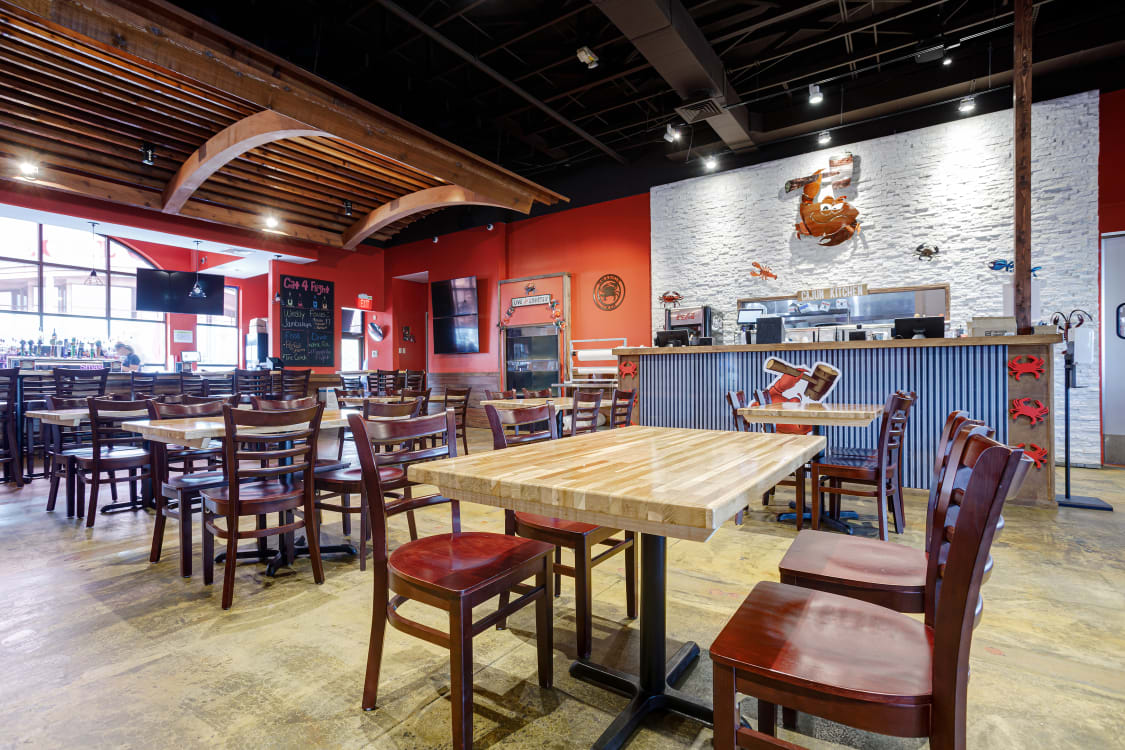 wood restaurant chairs and tables