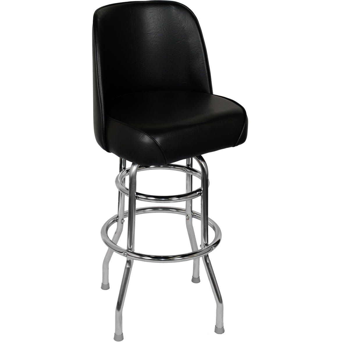 Chrome Swivel with a Double Ring & Bucket Seat