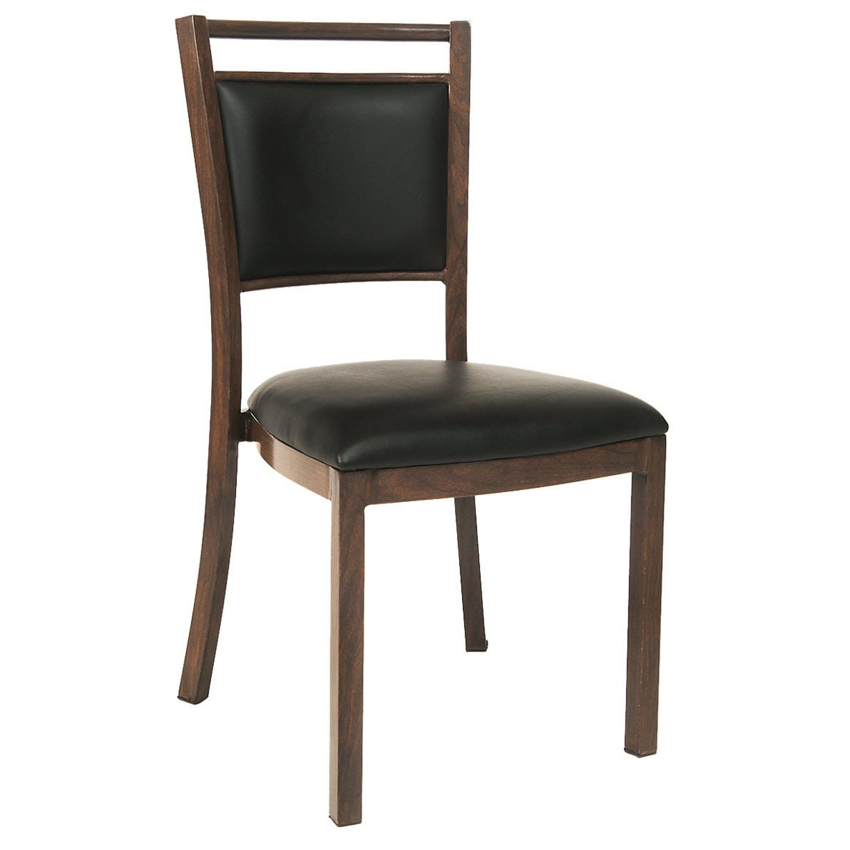 Wood Grain Aluminum Chair