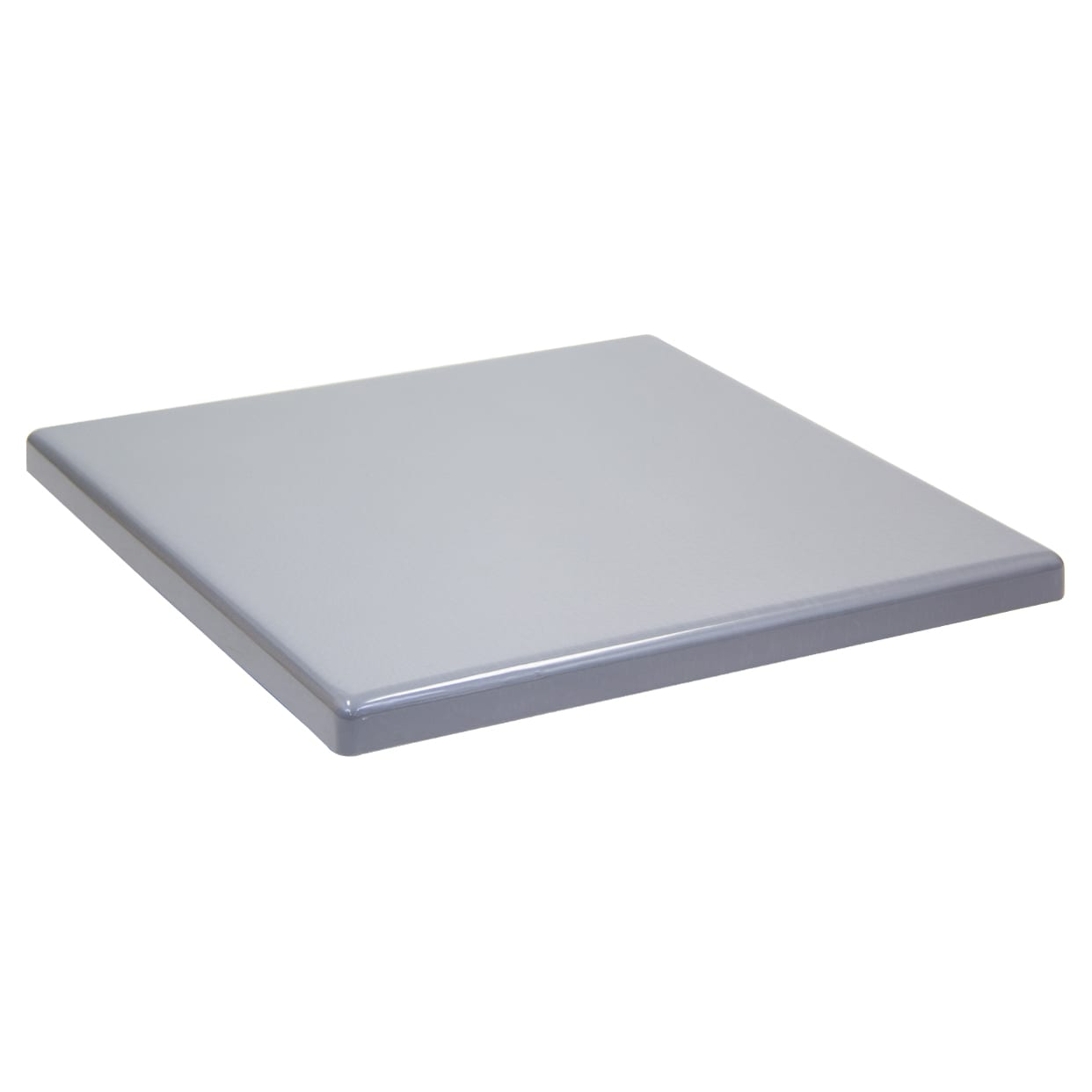 Outdoor Resin Table Top in Grey Finish