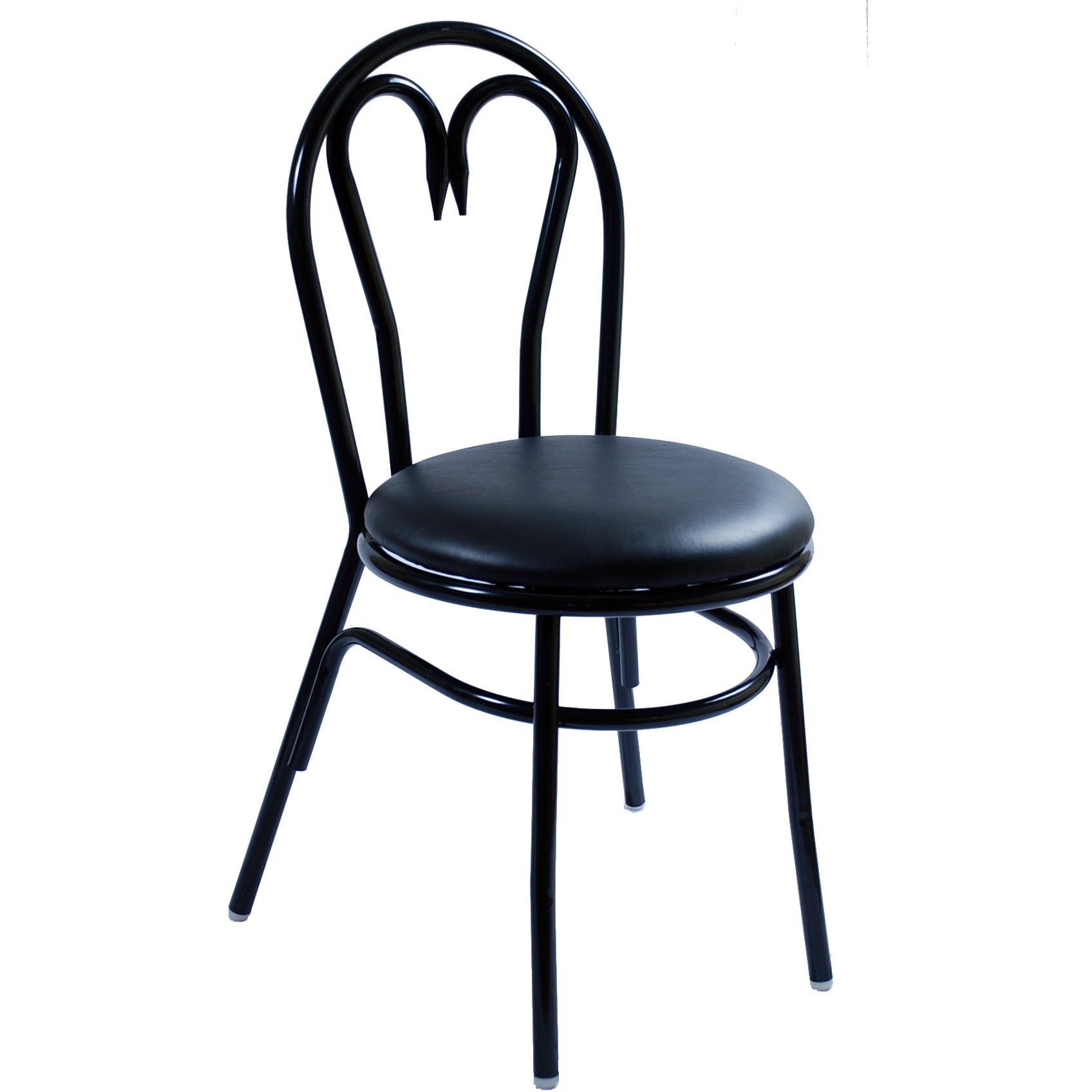 Heart Shaped Metal Chair