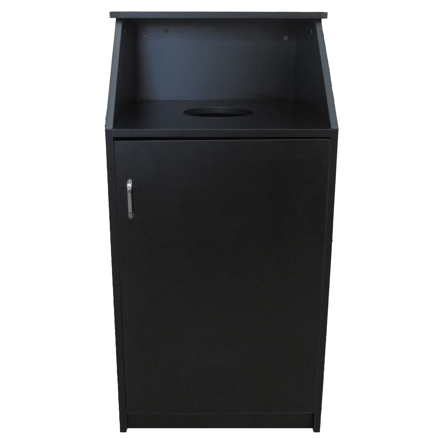 Economy 26 Gallon Waste Receptacle with Top Drop
