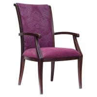 High Back Senior Living Empire Style Aluminum Arm Chair