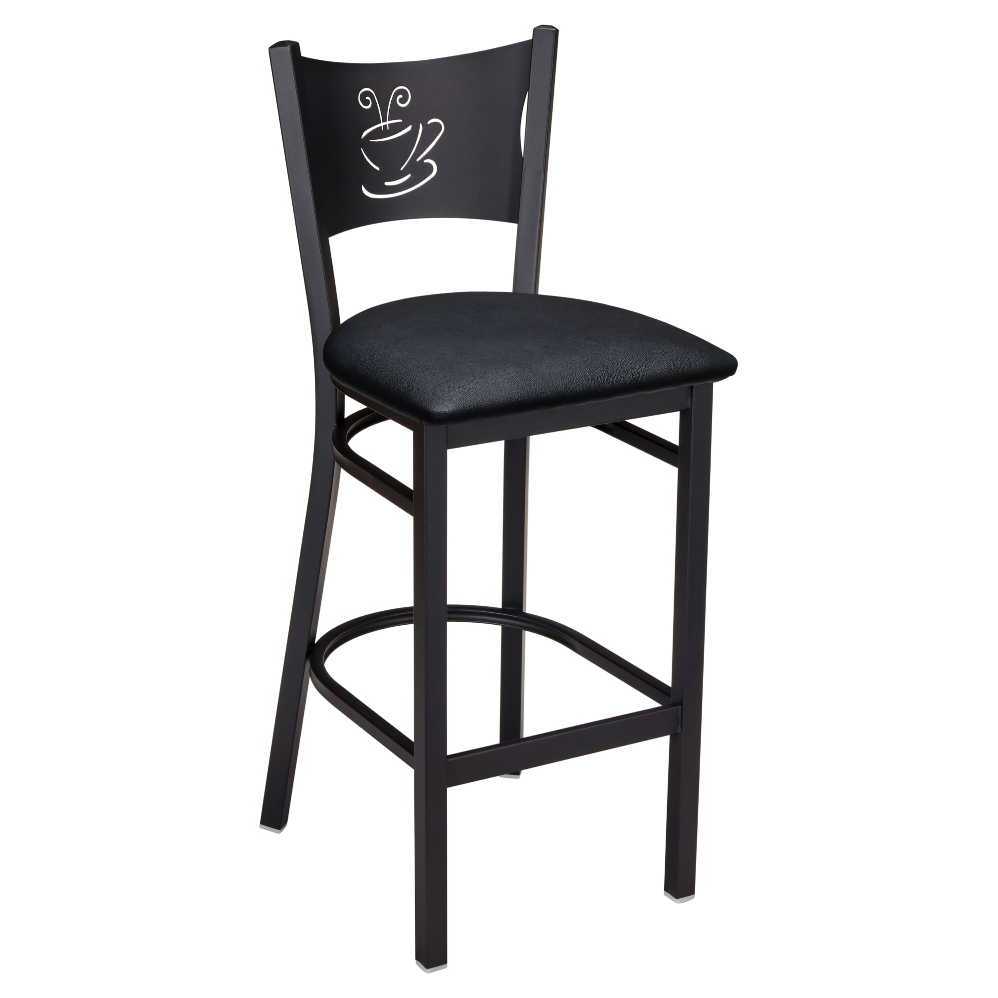 Metal Cafe Bar Stool with Metal Cafe Bar Stool