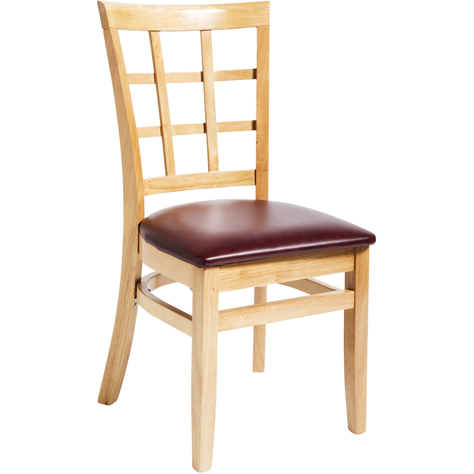 Window Back Wood Chair
