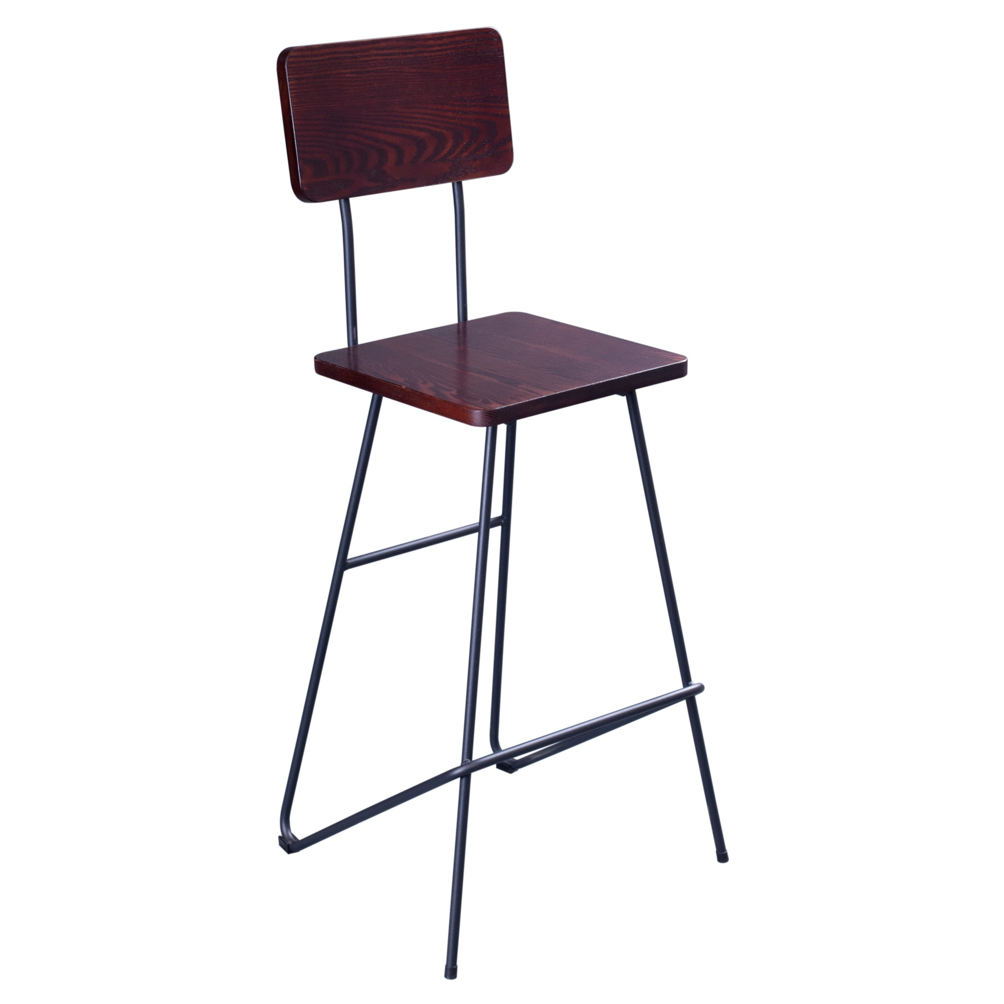 Mantis Industrial Style Metal Bar Stool with Mantis Industrial Style Metal Bar Stool