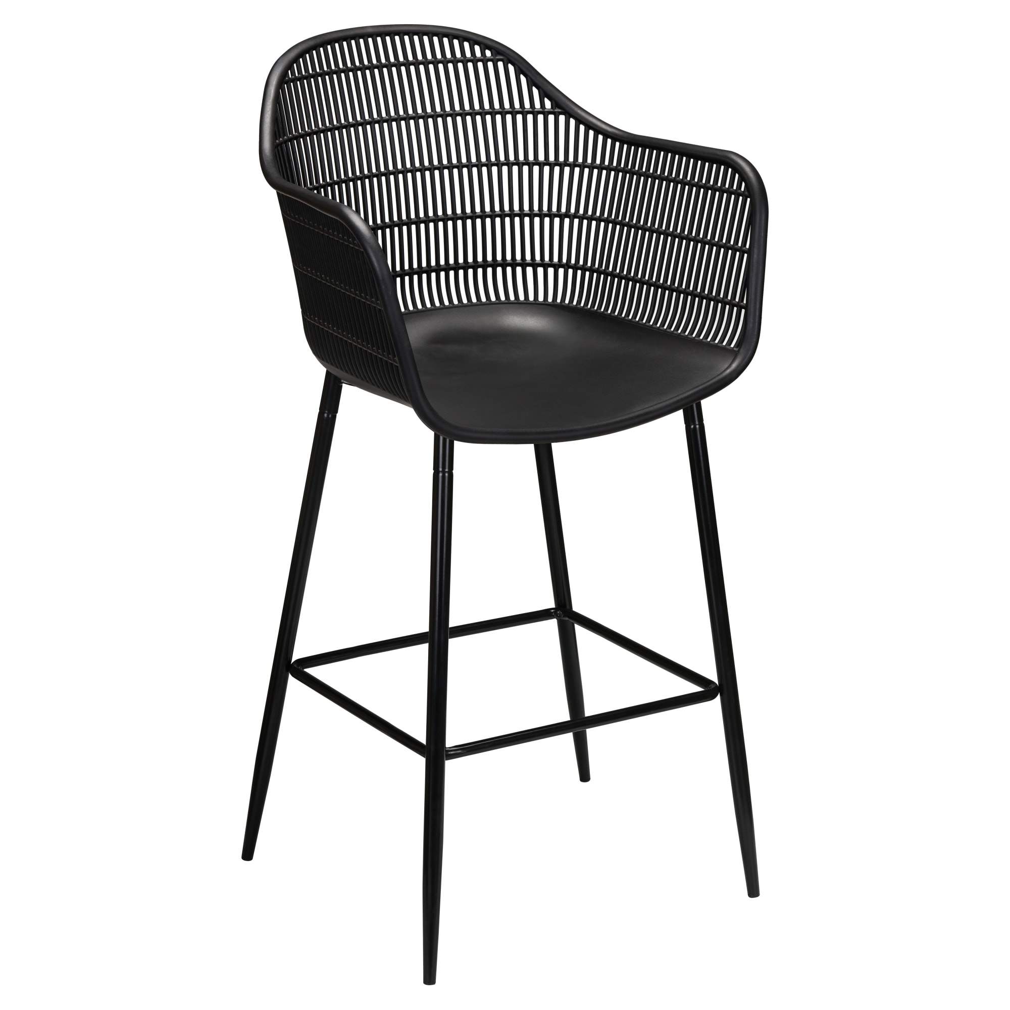 Alice Outdoor Resin Bar Stool with Alice Outdoor Resin Bar Stool