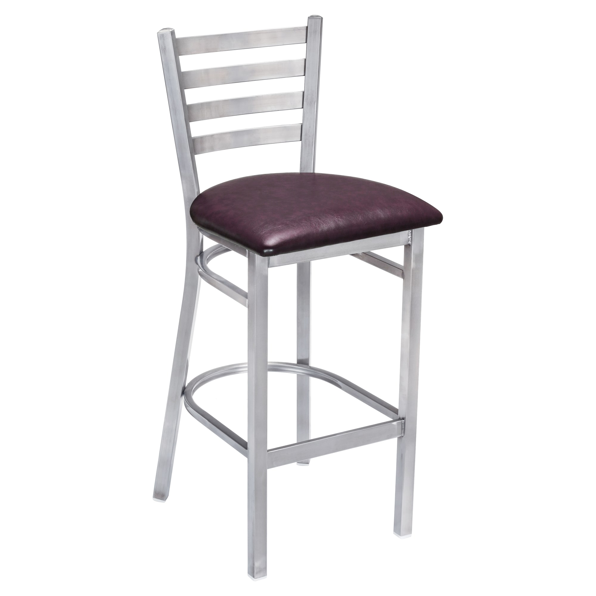 Metal Ladder Back Bar Stool Clear Coat with Metal Ladder Back Bar Stool Clear Coat