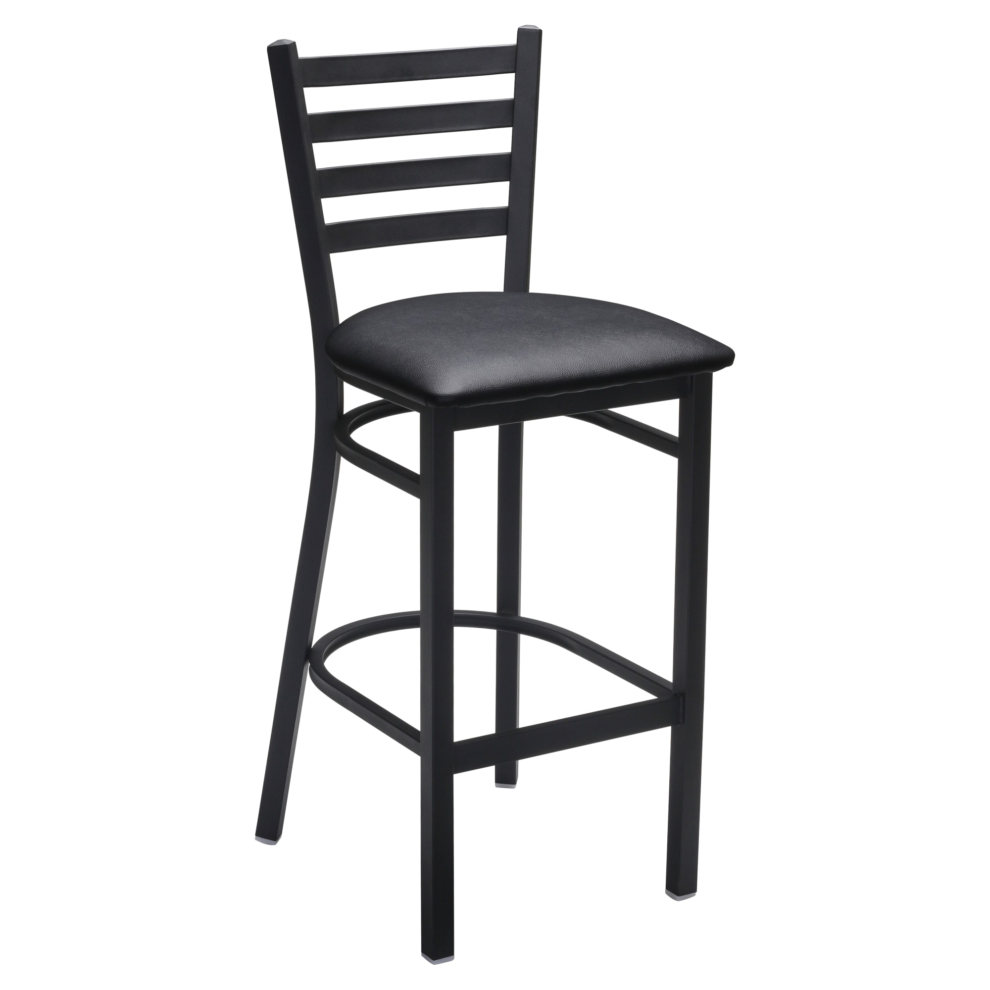 Ladder Back Metal Bar Stool with Ladder Back Metal Bar Stool