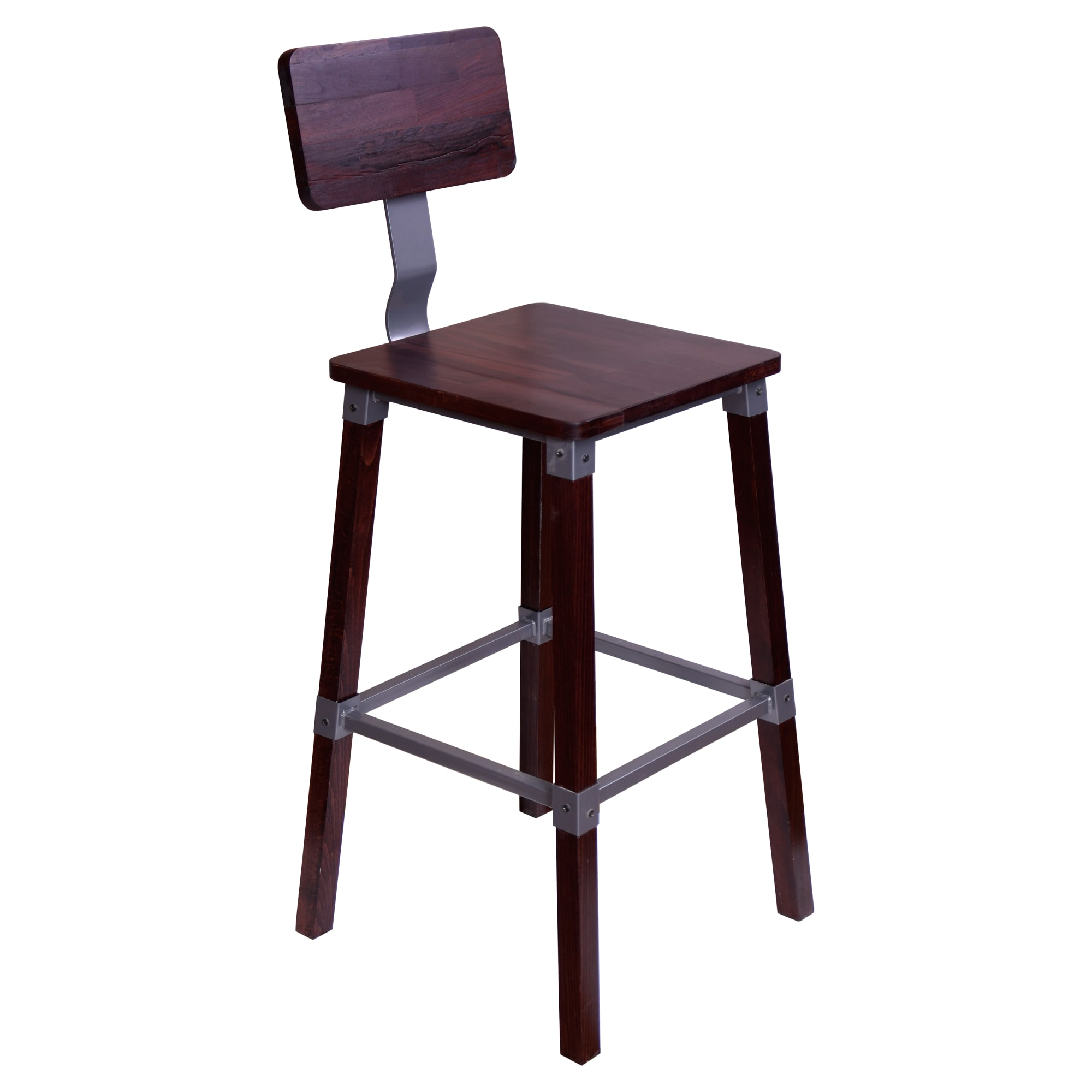 Malcolm Industrial Bar Stool with Malcolm Industrial Bar Stool