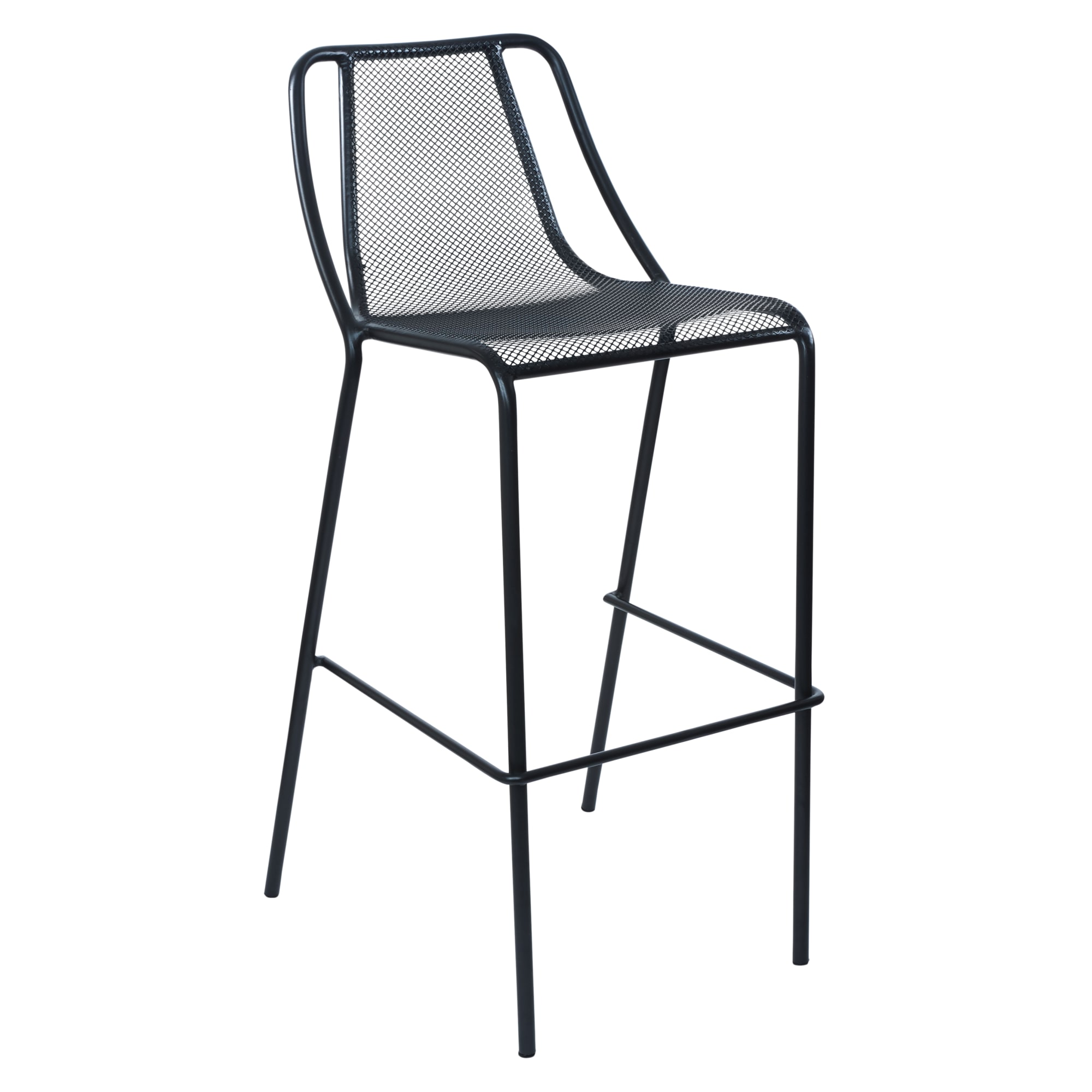Modern Metal Mesh Outdoor Bar Stool