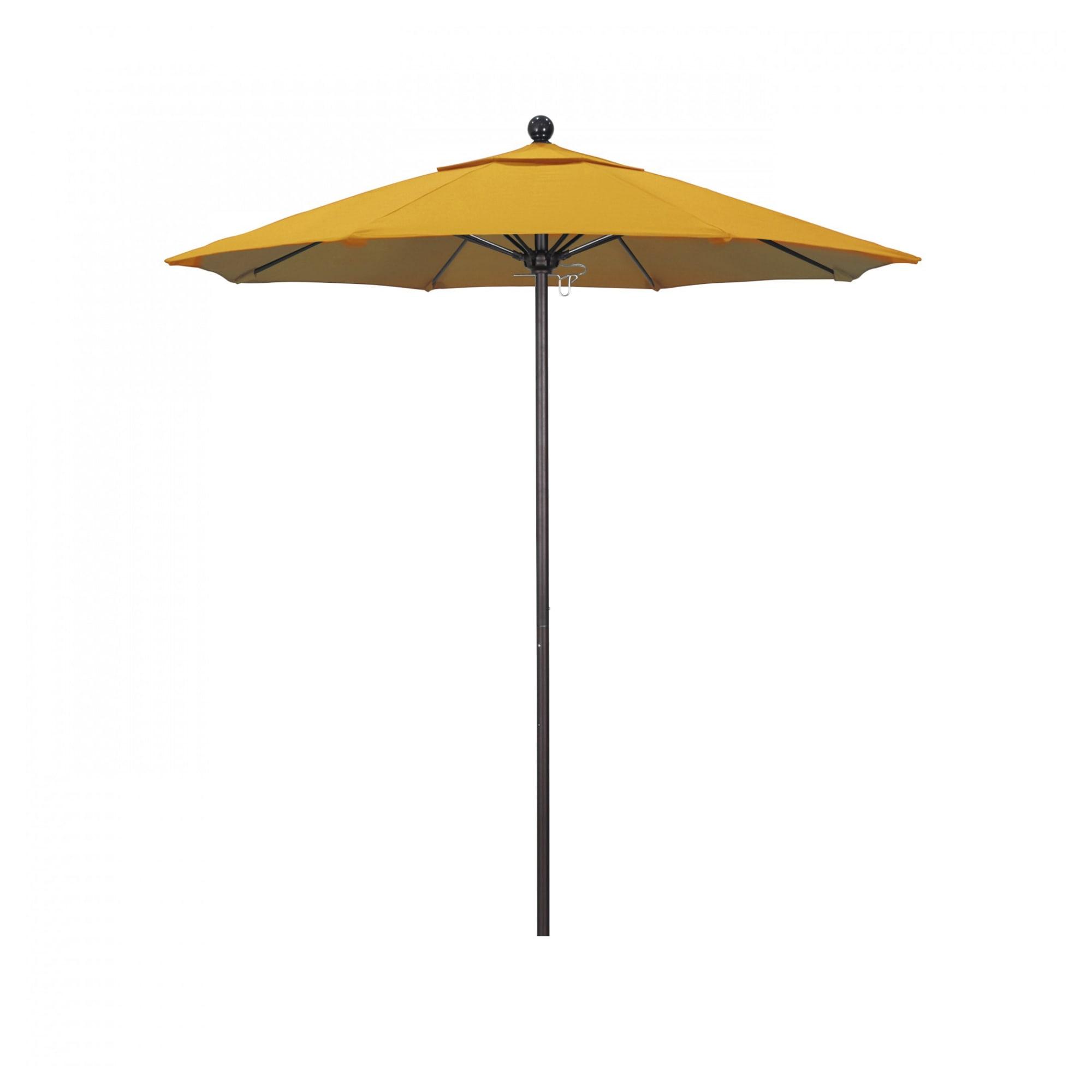 9 ft Casey Bronze Aluminum Commercial Umbrella with 9 ft Casey Bronze Aluminum Commercial Umbrella