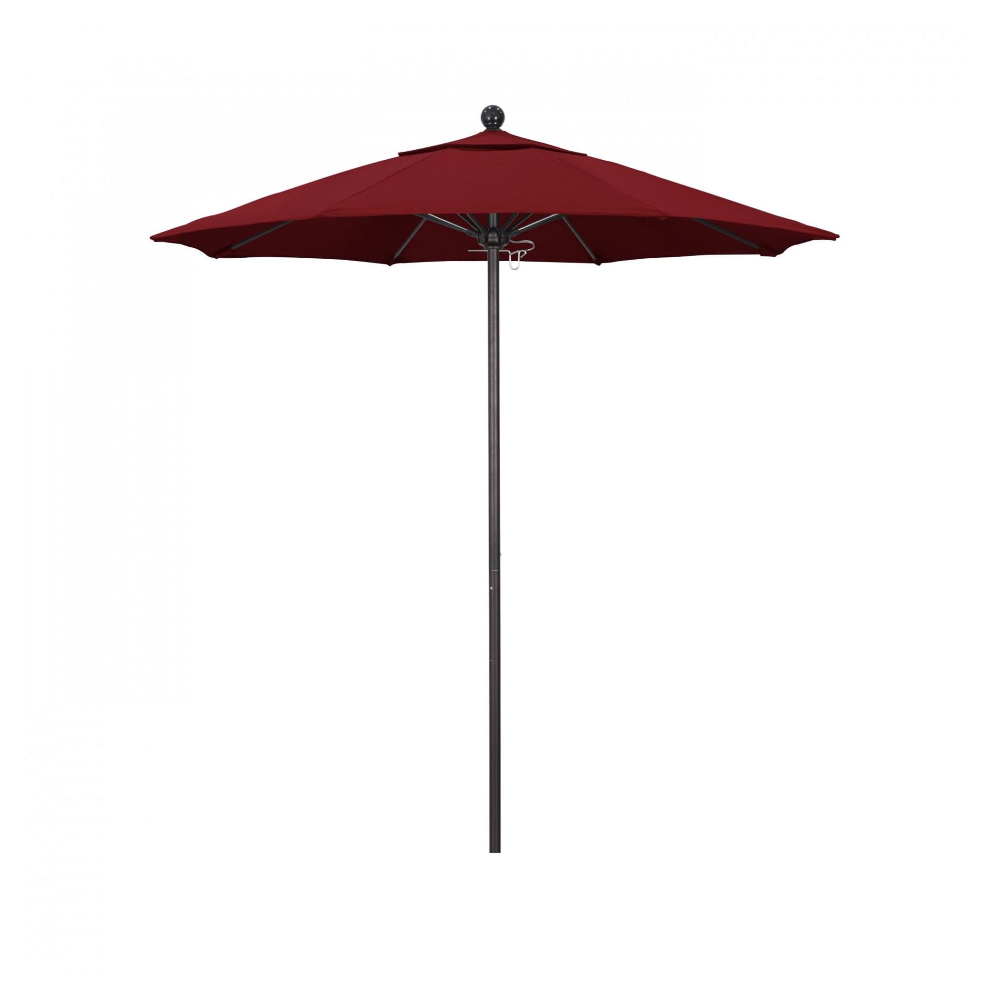 7.5 ft Casey Bronze Aluminum Commercial Umbrella with 7.5 ft Casey Bronze Aluminum Commercial Umbrella