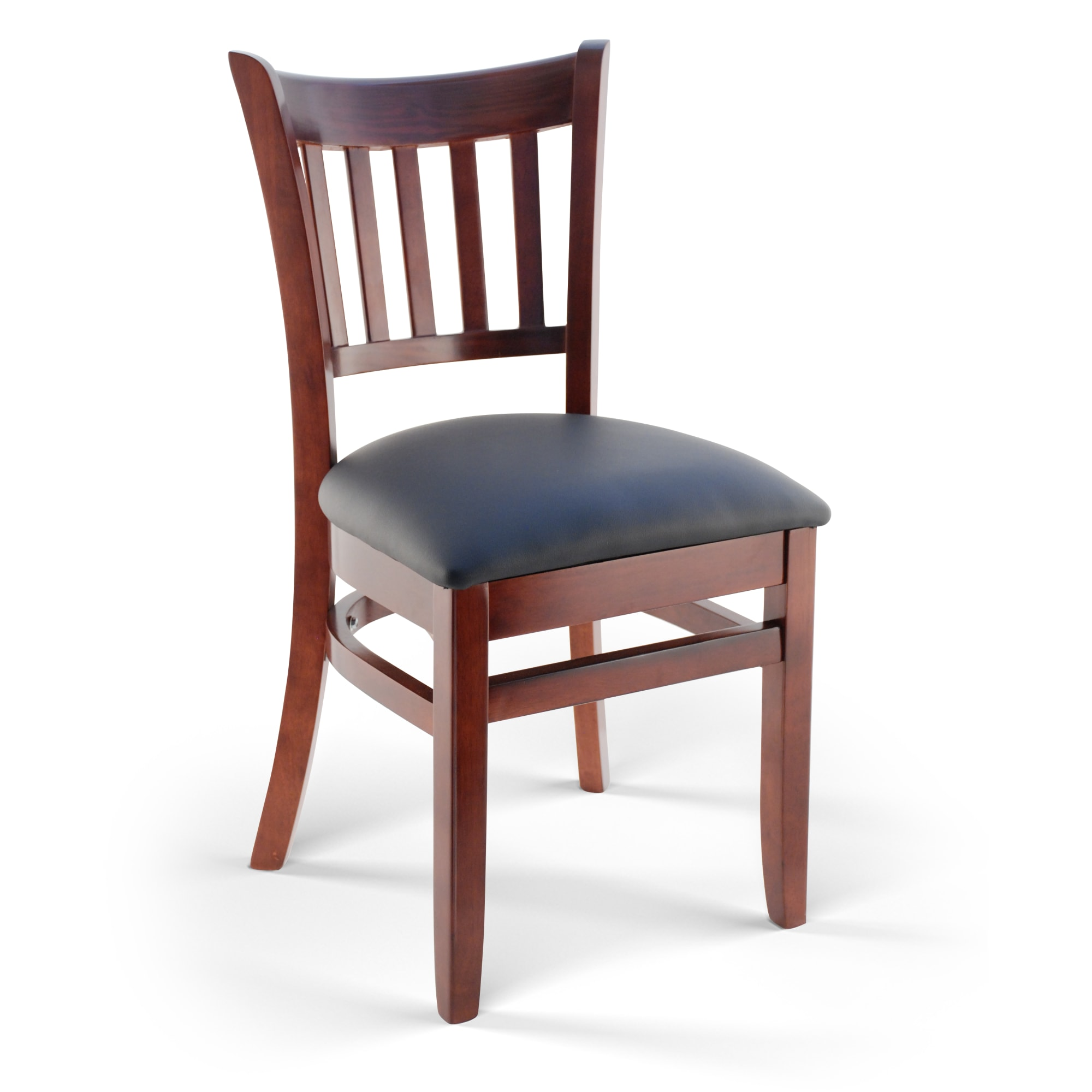 Premium US Made Vertical Slat Wood Chair with Premium US Made Vertical Slat Wood Chair