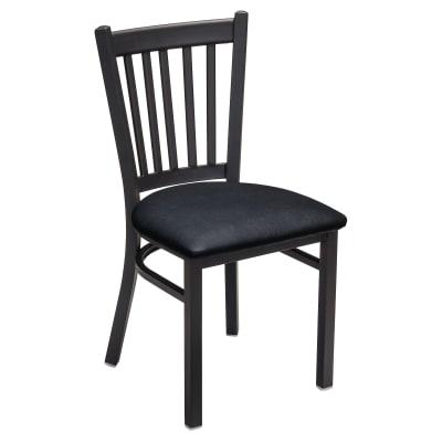 Metal Vertical Slat Chairs