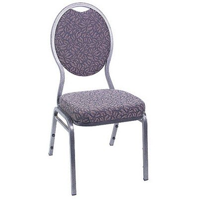Hourglass Back Banquet Stack Chair