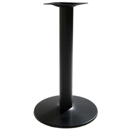 Round Cast Iron Restaurant Table Base - 30'' Table Ht