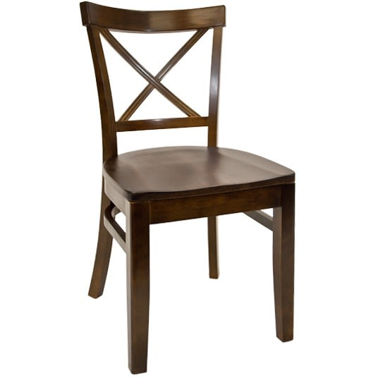 Beechwood X Back Chair