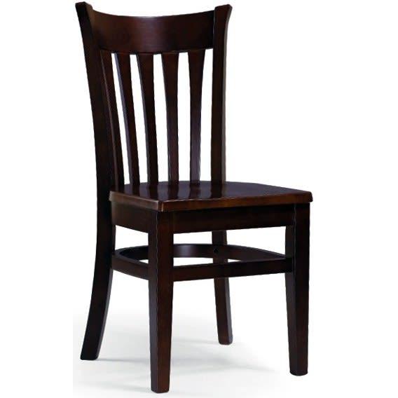 Pes Vertical Slat Wood Chair