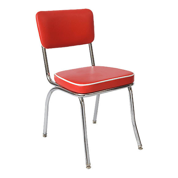 Retro Metal Vinyl Chair