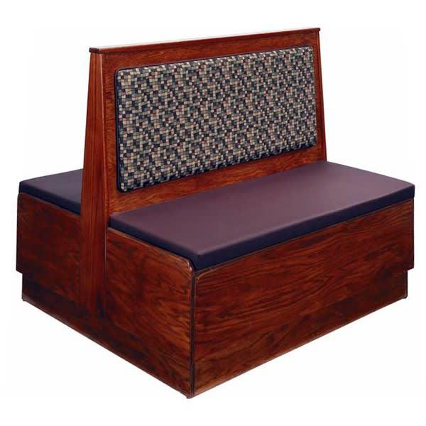 Wood Platform Booth