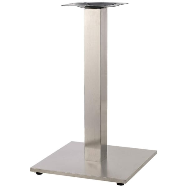 Square Stainless Steel Table Base