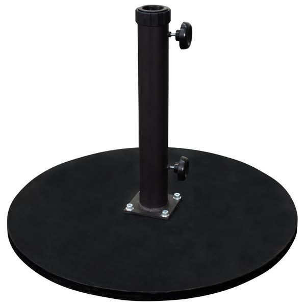 Premium Black Cast Iron Umbrella Base
