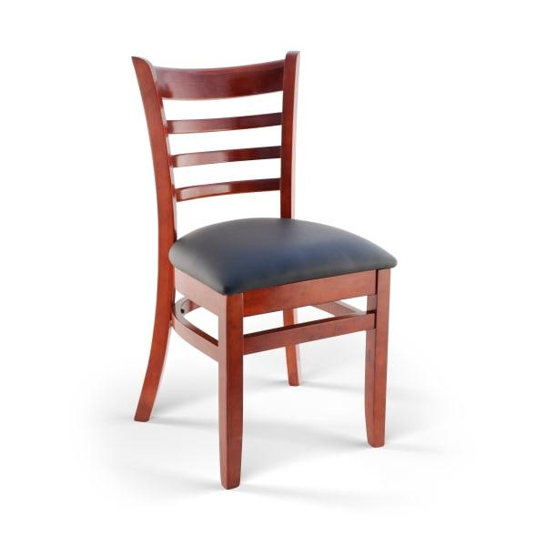 Ladder Back Wood Restaurant Chair