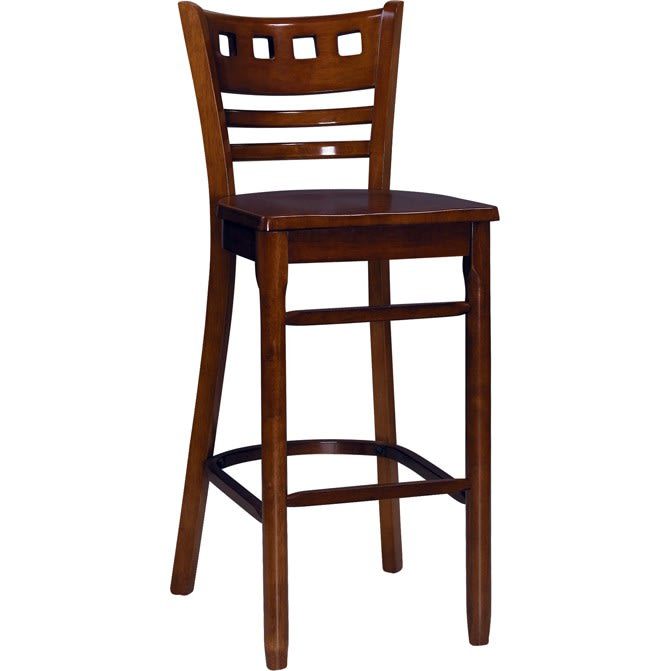 American Back Wood Restaurant Bar Stool