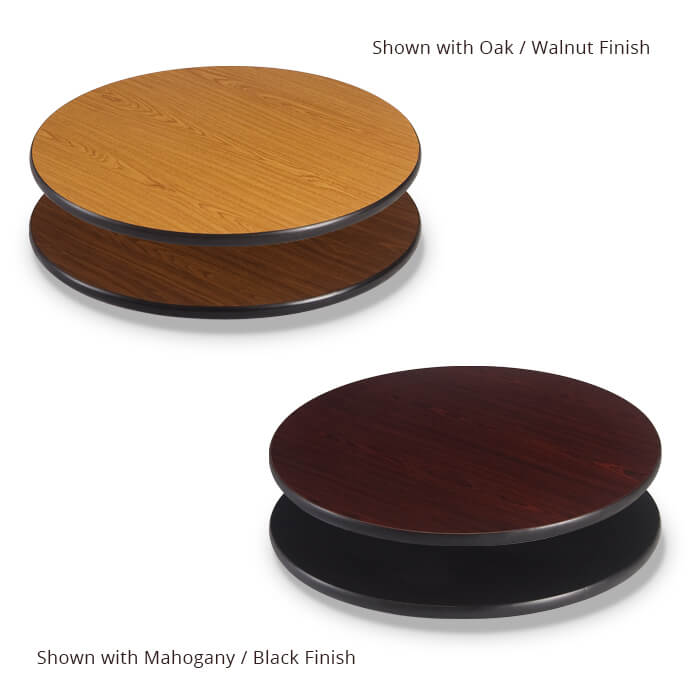 Reversible Table Tops – Round