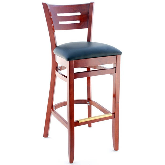 Premium US Made Henry Wood Restaurant Bar Stool