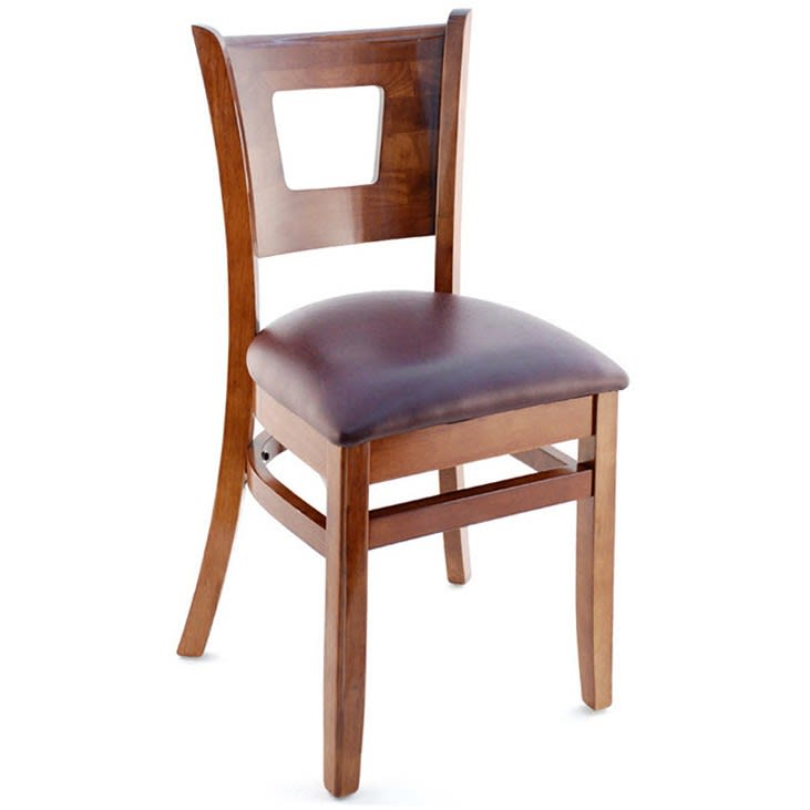 Premium US Made Duna Wood Chair with Premium US Made Duna Wood Chair