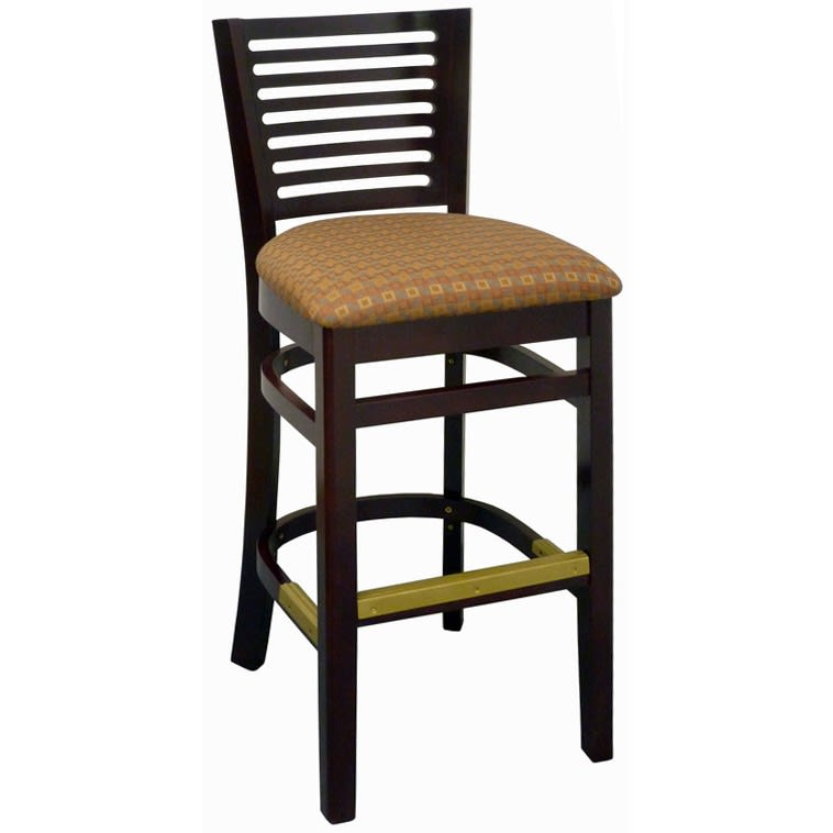 Paris Wood Restaurant Bar Stool