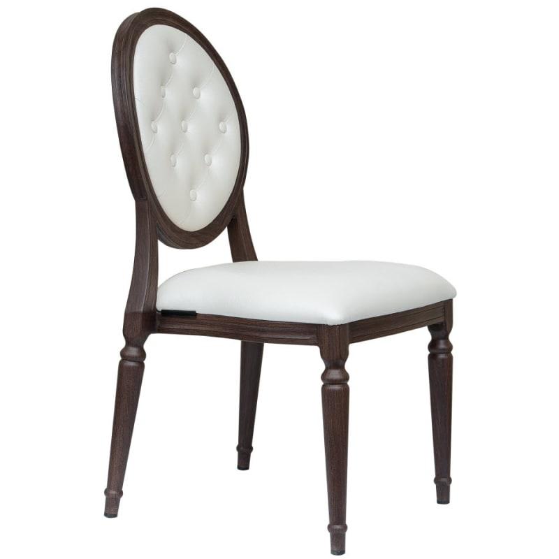 Clara Padded Aluminum Chair