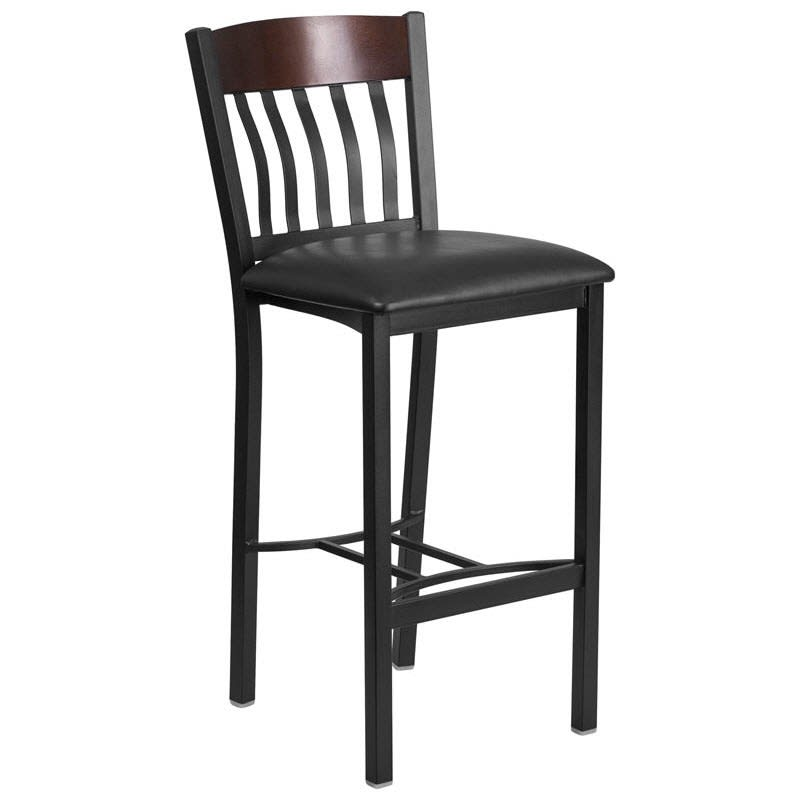 Metal Schoolhouse Restaurant Bar Stool