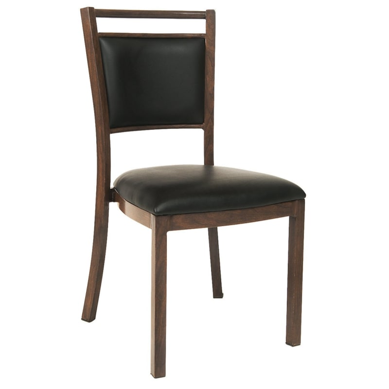 Wood Grain Aluminum Chair