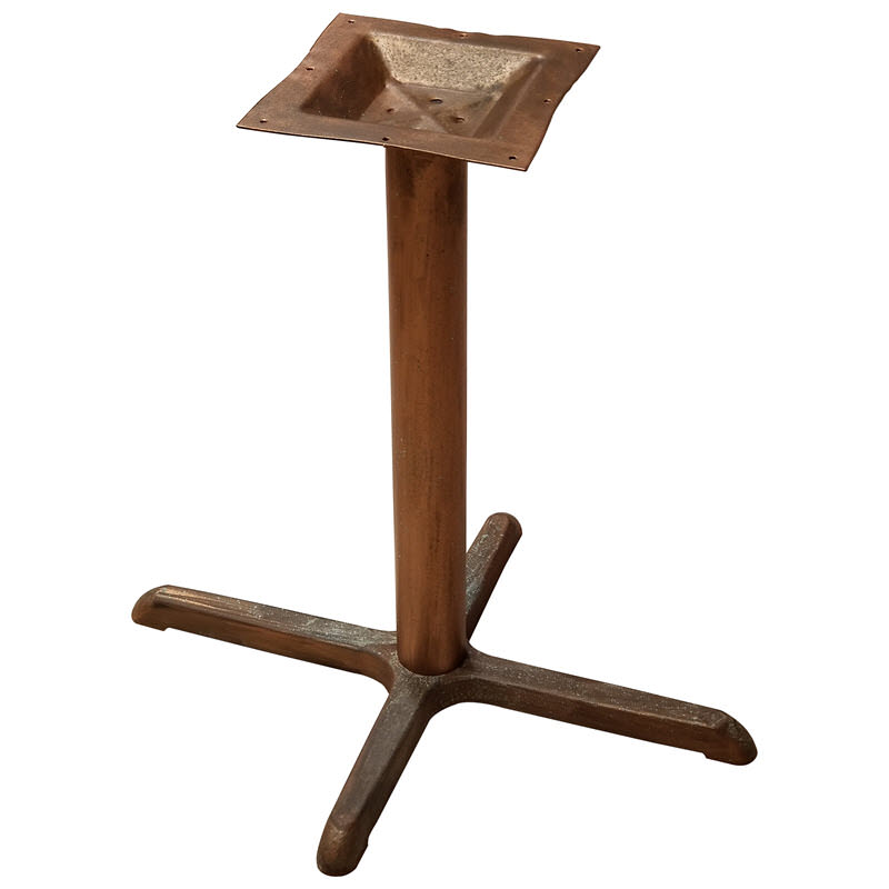 Industrial Style X Prong Table Bases