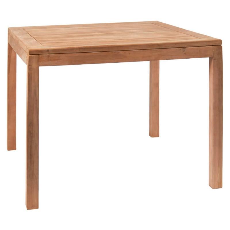 Teak Wood Outdoor Restaurant Table