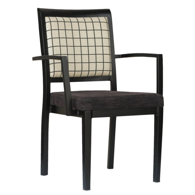 Gifford Extra Wide Aluminum Arm Chair