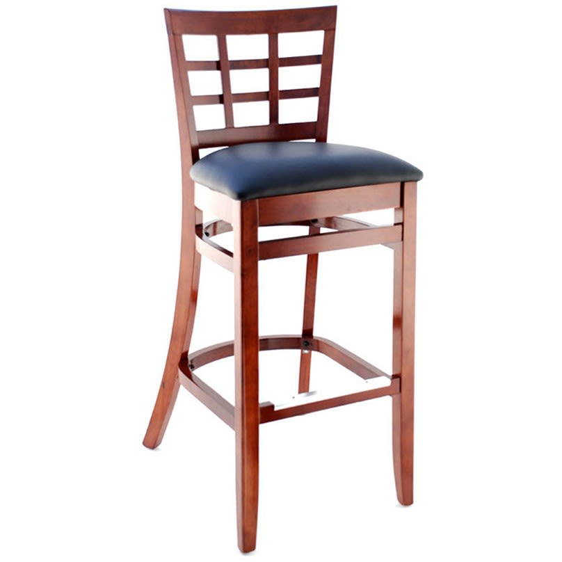 Premium US Made Window Back Restaurant Bar Stool