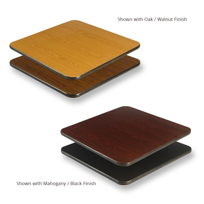Reversible Table Tops – Rectangular & Square