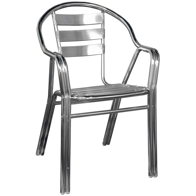 All-Aluminum Patio Chair